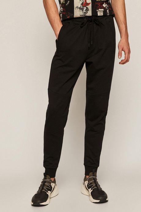 Spodnie męskie dresowe czarny