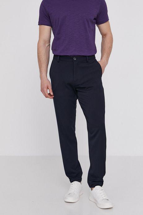 Spodnie męskie joggery granatowe