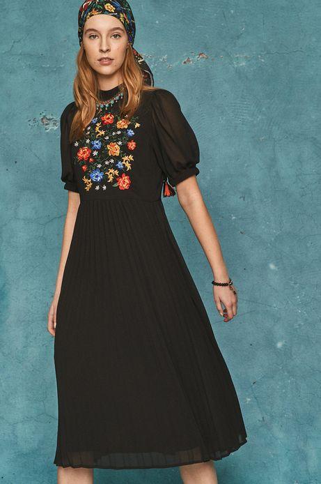Sukienka damska Frida Kahlo czarna