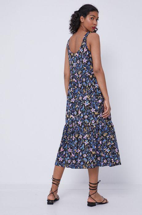 Sukienka damska z bawełny organicznej