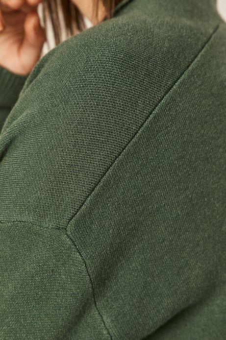 Kardigan damski zielony