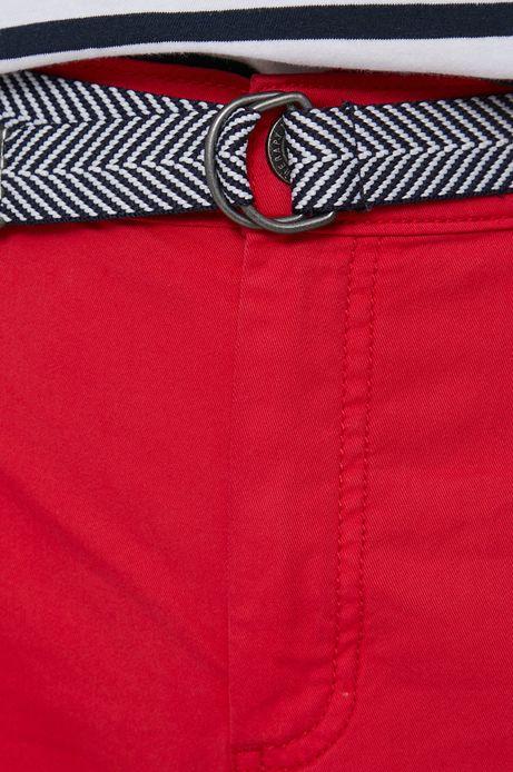 Szorty damskie czerwone