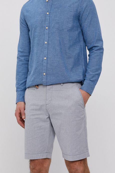 Szorty męskie bawełniane niebieskie
