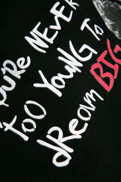 Bawełniana torba Banksy's Graffiti czarna