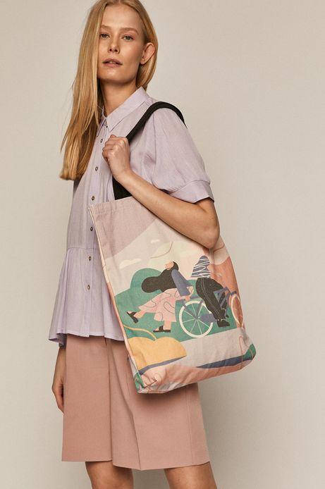 Bawełniana torba damska Projekt: Rower
