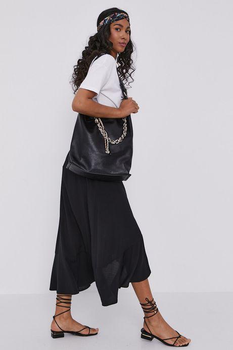 Torebka damska z łańcuszkiem czarna