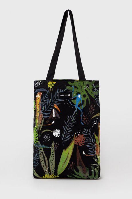 Bawełniana torba z wzorzystego materiału