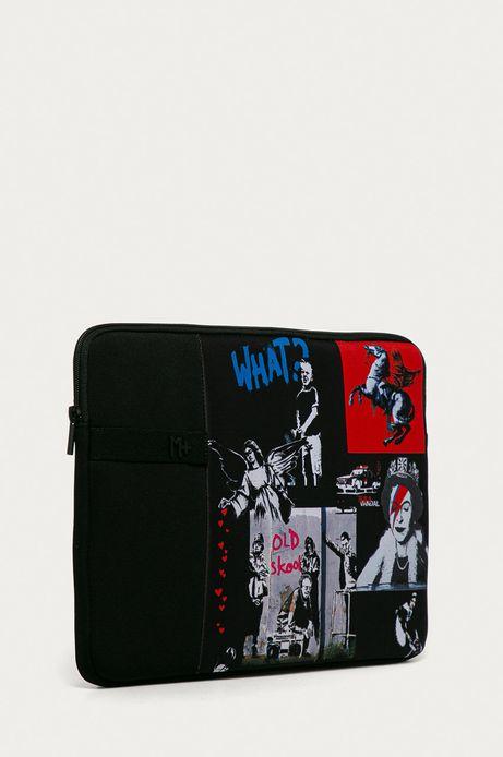 Pokrowiec na laptopa Banksy's Graffiti czarny