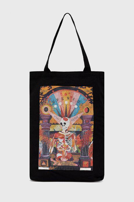 Bawełniana torba by Magdalena Parfieniuk czarna
