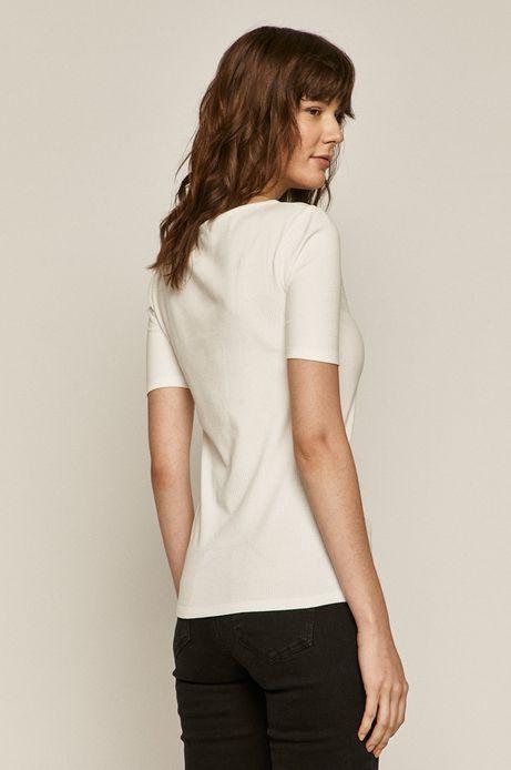 T-shirt damski z bawełną organiczną biały