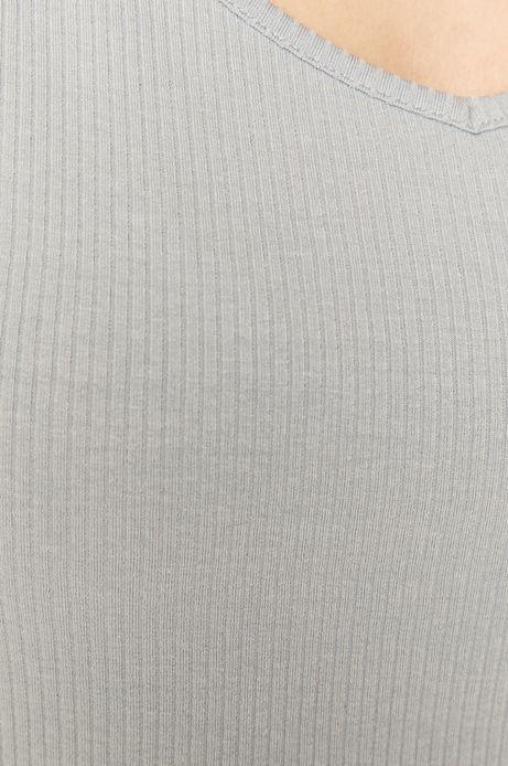 T-shirt damski z bawełną organiczną niebieski