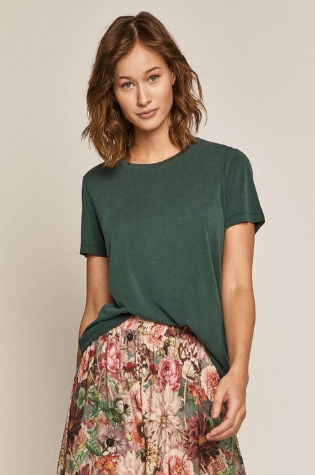 T-shirt damski turkusowy
