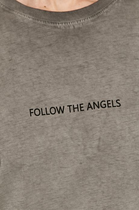 T-shirt damski z kolekcji EVIVA L'ARTE szary
