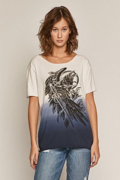 T-shirt damski by Katarzyna Piątkowska, Tattoo Art biały