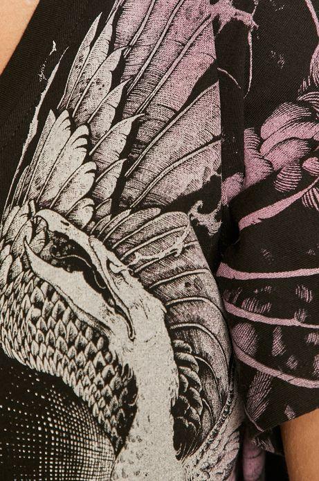 T-shirt damski by Piotr Bemben, Tattoo Art czarny
