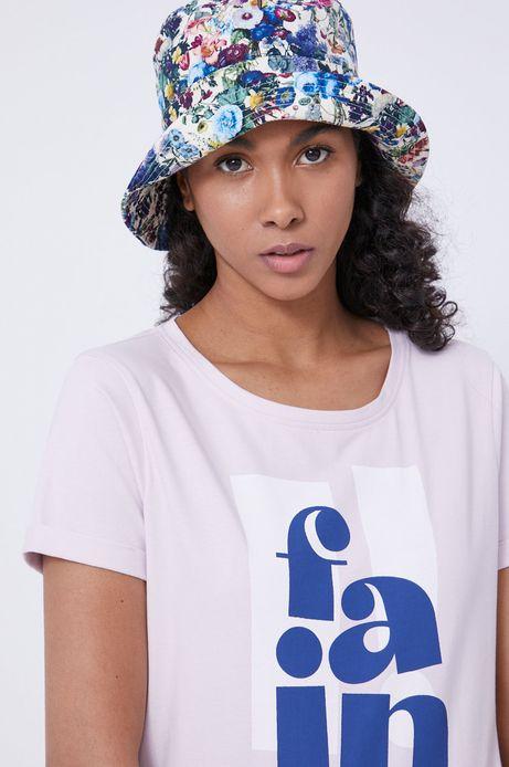 T-shirt damski by Marta Przeciszewska, Grafika Polska różowy
