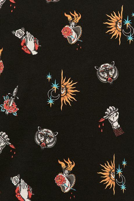T-shirt męski by Mojkaink, Tattoo Art czarny