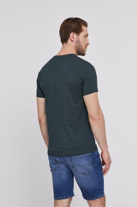 T-shirt męski by Magdalena Parfieniuk zielony
