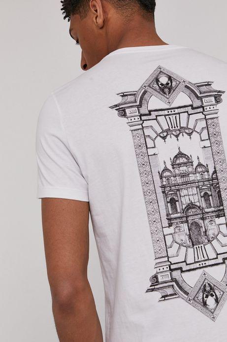 T-shirt męski Modern Africa biały