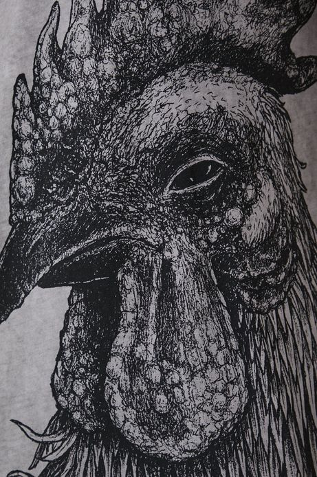 T-shirt męski by Dawid Bacewicz, Grafika Polska szary