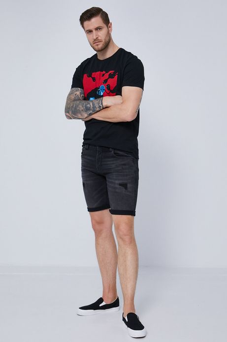 """T-shirt męski z bawełny organicznej by """"Krabonszcz"""" – Nikodem Szewczyk, Grafika Polska"""