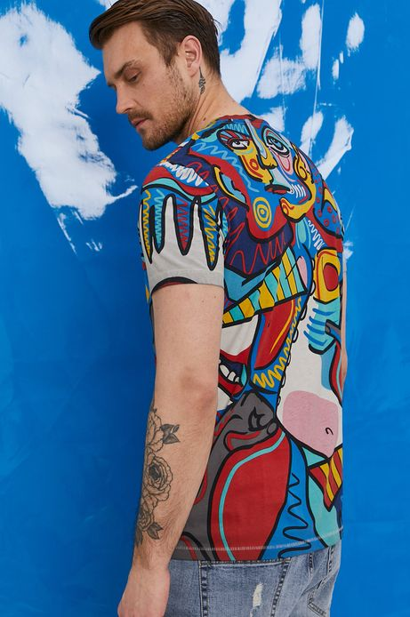 """T-shirt męski by """"Krabonszcz"""" – Nikodem Szewczyk, Grafika Polska"""