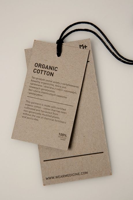 T-shirt męski z bawełny organicznej fioletowy