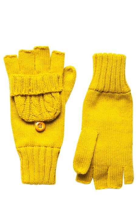 Rękawiczki  żółte