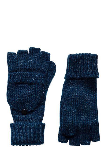 Rękawiczki Steampunk granatowe
