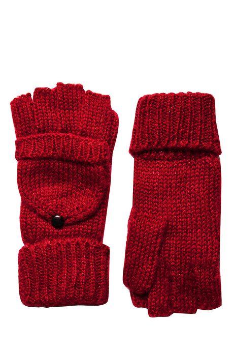 Rękawiczki Steampunk czerwone