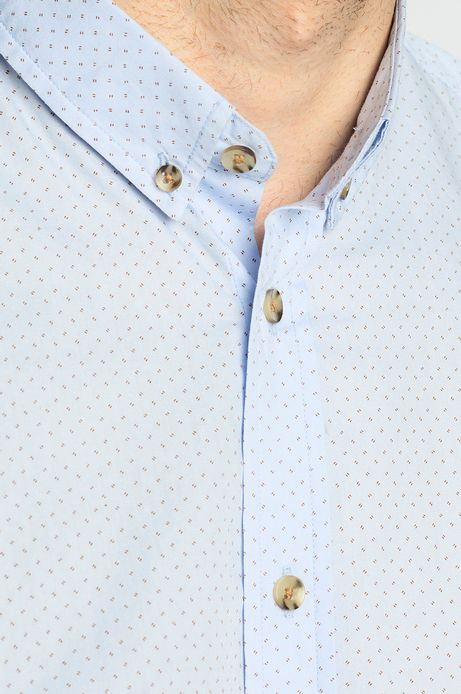 Koszula Cambridge niebieska