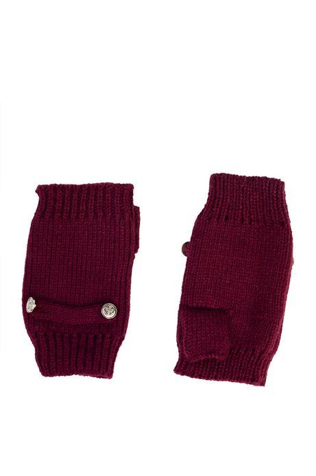 Rękawiczki Baker St czerwone