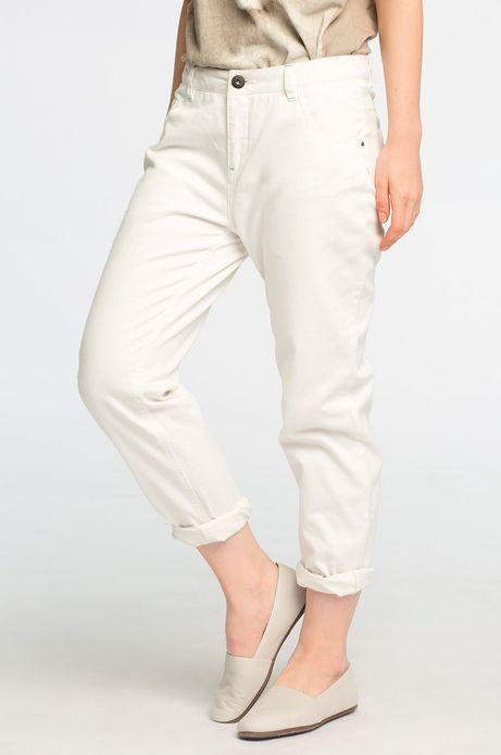 Spodnie Stonecold białe