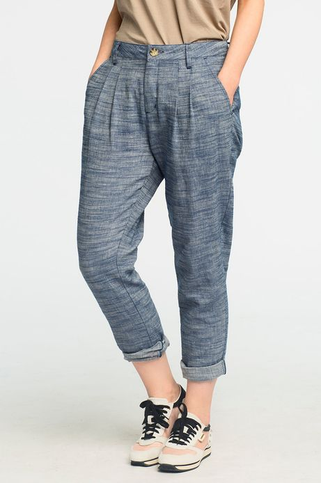 Spodnie Stonecold niebieskie