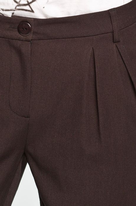 Spodnie The Hamptons brązowe
