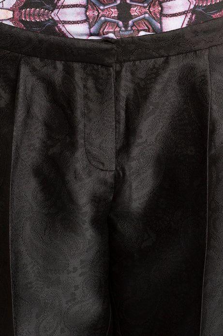 Spodnie Iconic czarne
