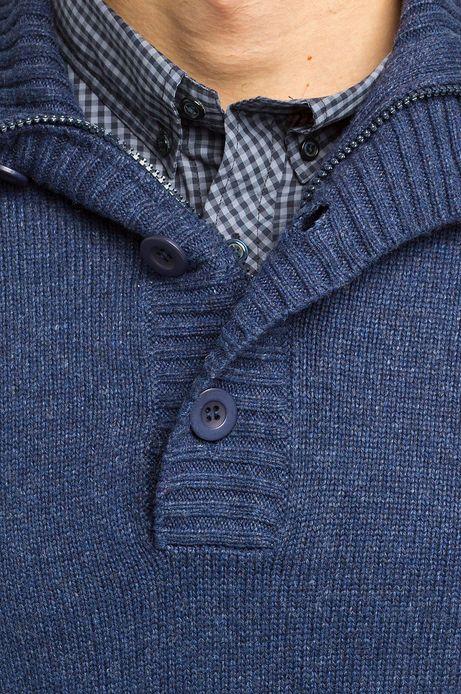 Sweter Baker St niebieski
