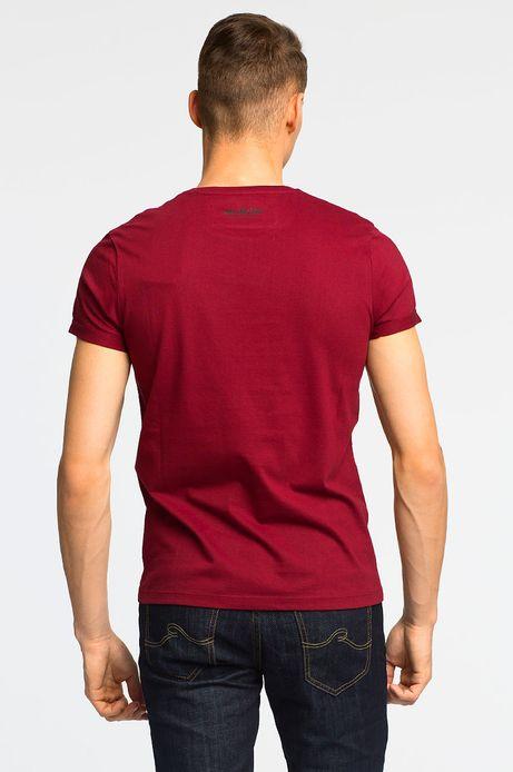 T-shirt Witczak brązowy
