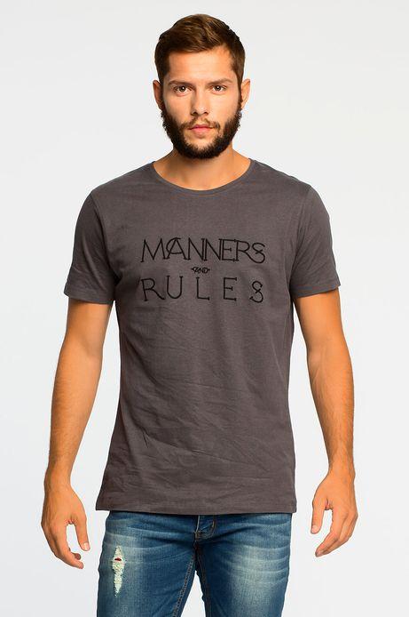 T-shirt Baker St szary