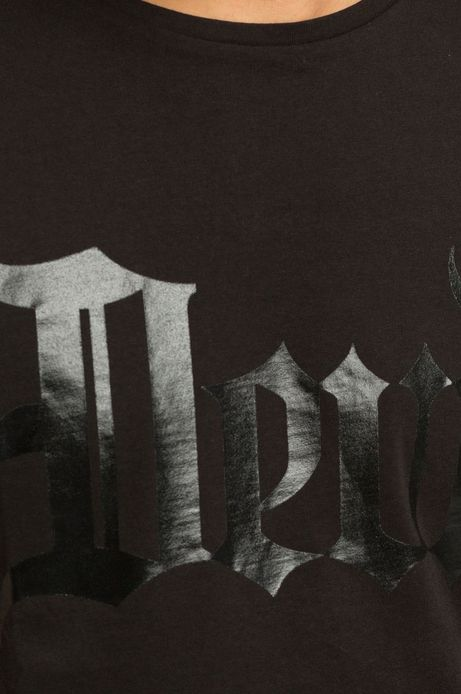 T-shirt Iconic czarny
