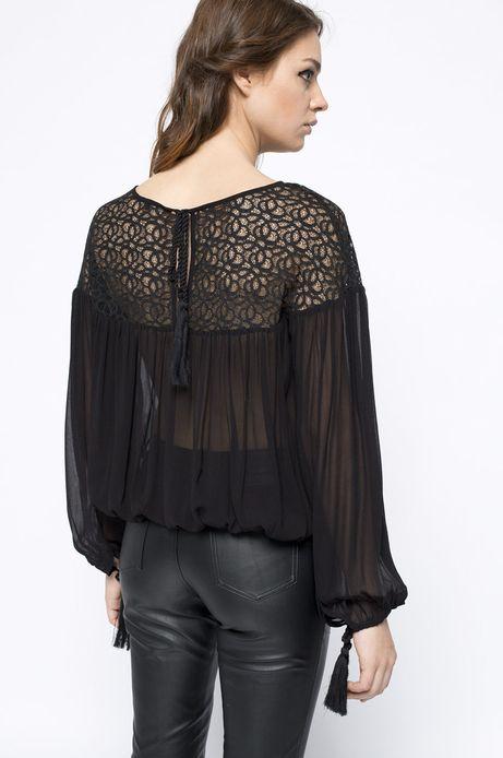 Koszula Bohemian czarna