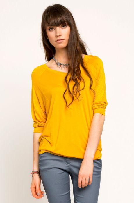 Bluza Boho żółta