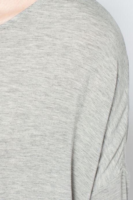Bluzka Heritage szara