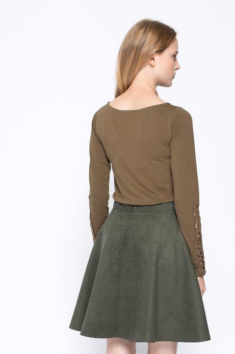 Bluzka Bohemian zielona