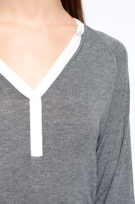 Bluzka  szara