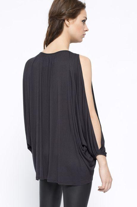 Bluzka Bohemian czarna