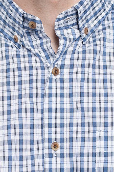 Koszula Heritage niebieska