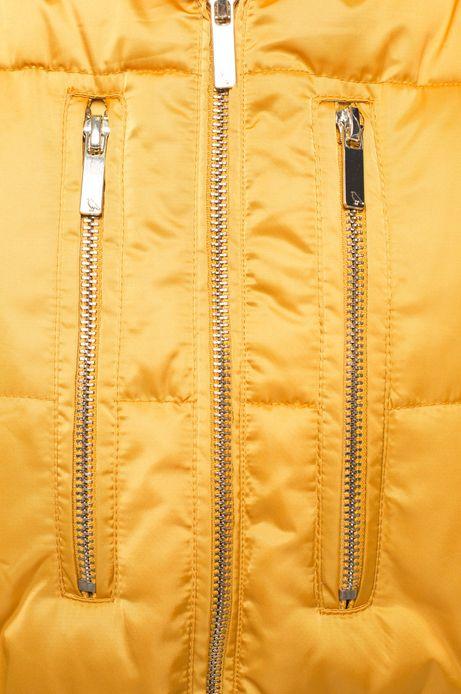 Kurtka Heritage żółta