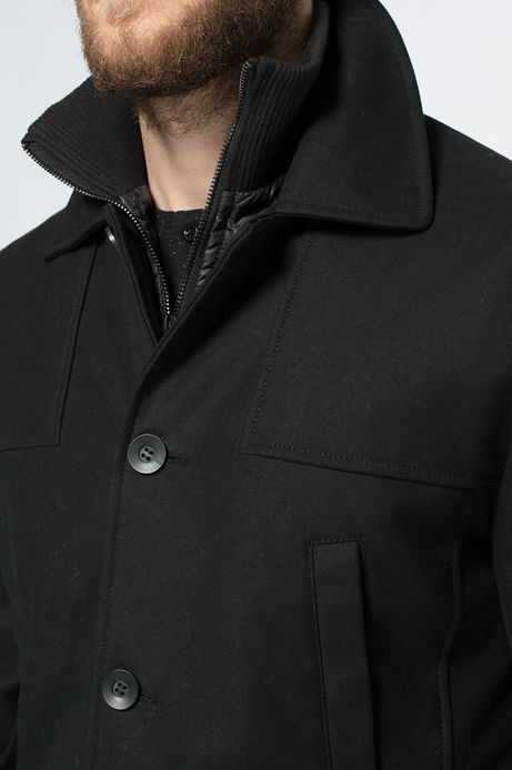 Płaszcz Bohemian czarny