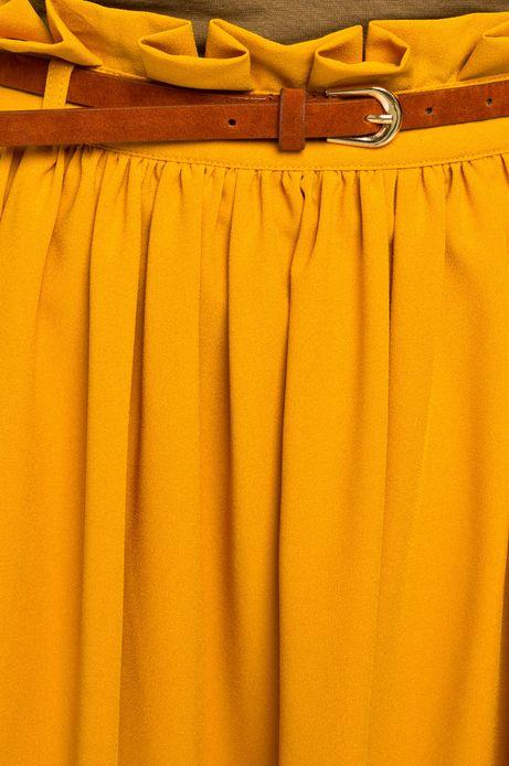 Spódnica Boho żółta